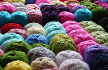 yarn, wool, rolls